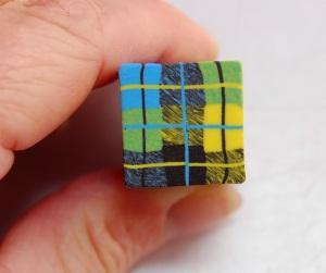 Voici une autre canne 3-couleurs en utilisant le même schéma et la procédure que celle décrite ci-dessus .... Les possibilités sont infinies!